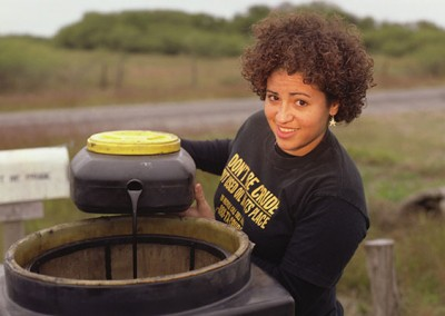 "Barbara - Created the ""Don't Be Crude"" motor oil recycling program in her town, a project that has expanded to seven counties."