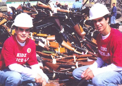 Niko & Theo - Created Kids Voice-LA and worked tirelessly to reduce gun violence in and around Los Angeles.