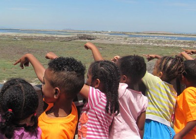 Jr. Refuge Rangers discovering nature at a wildlife refuge in California.