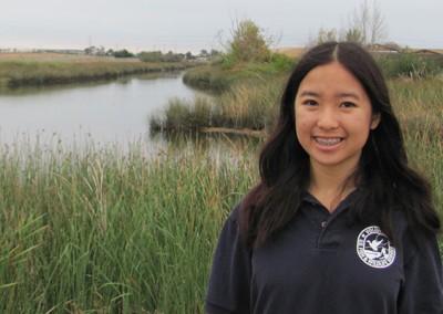Lynnea, founder of the Junior Refuge Ranger program.