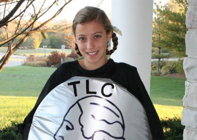 Talia - Organized Trick or Treat for the Levee Catastrophe (T.L.C.), which raised over five million dollars for victims of Hurricane Katrina.