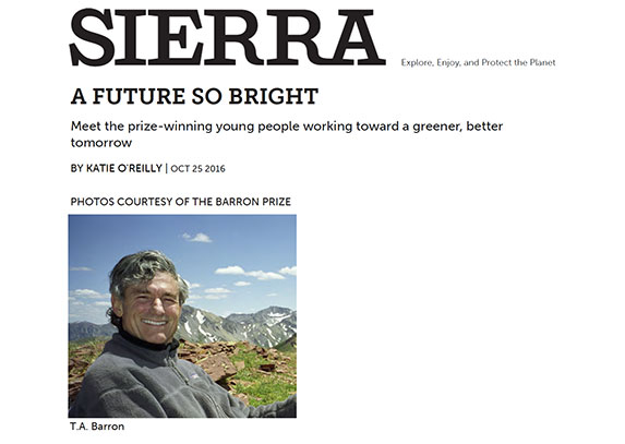 A Future So Bright Sierra Club Magazine October, 2016