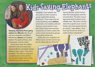 Kids Saving ElephantsRanger RickSeptember, 2017