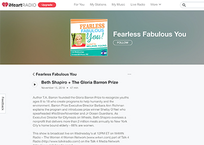Interview with Shelby…Fearless Fabulous YouNovember, 2018
