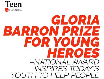 National Award Inspires Today's Youth…Teen InfluentialMay/June, 2020